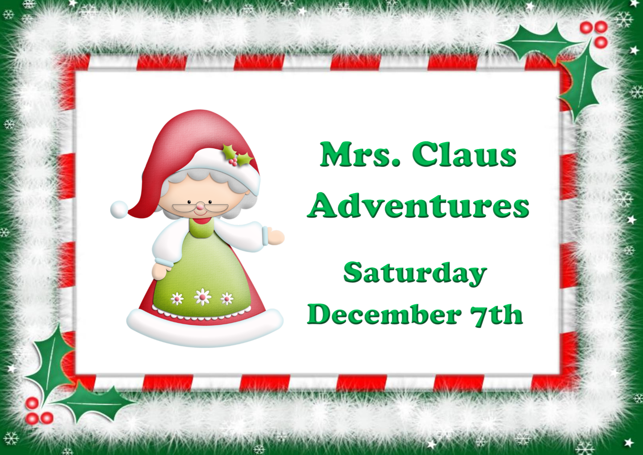 Mrs. Claus Adventures 2019