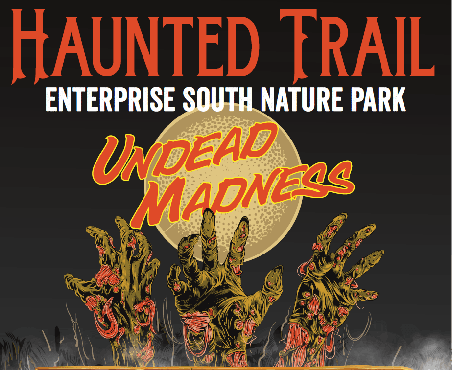 Haunted Trail flyer cover