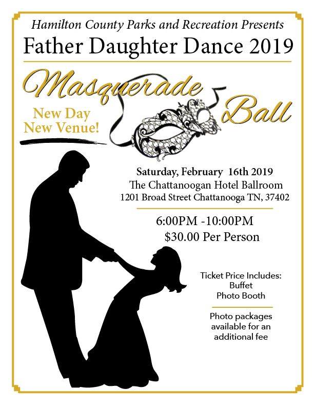 Father Daughter Dance 2019 Flyer