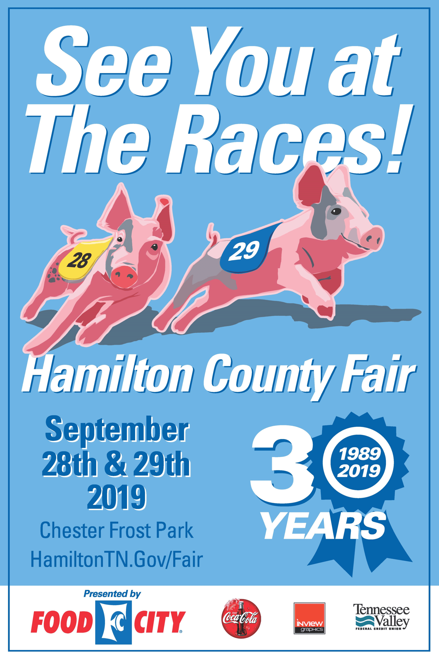 Hamilton Co. Fair 2019 Poster Image