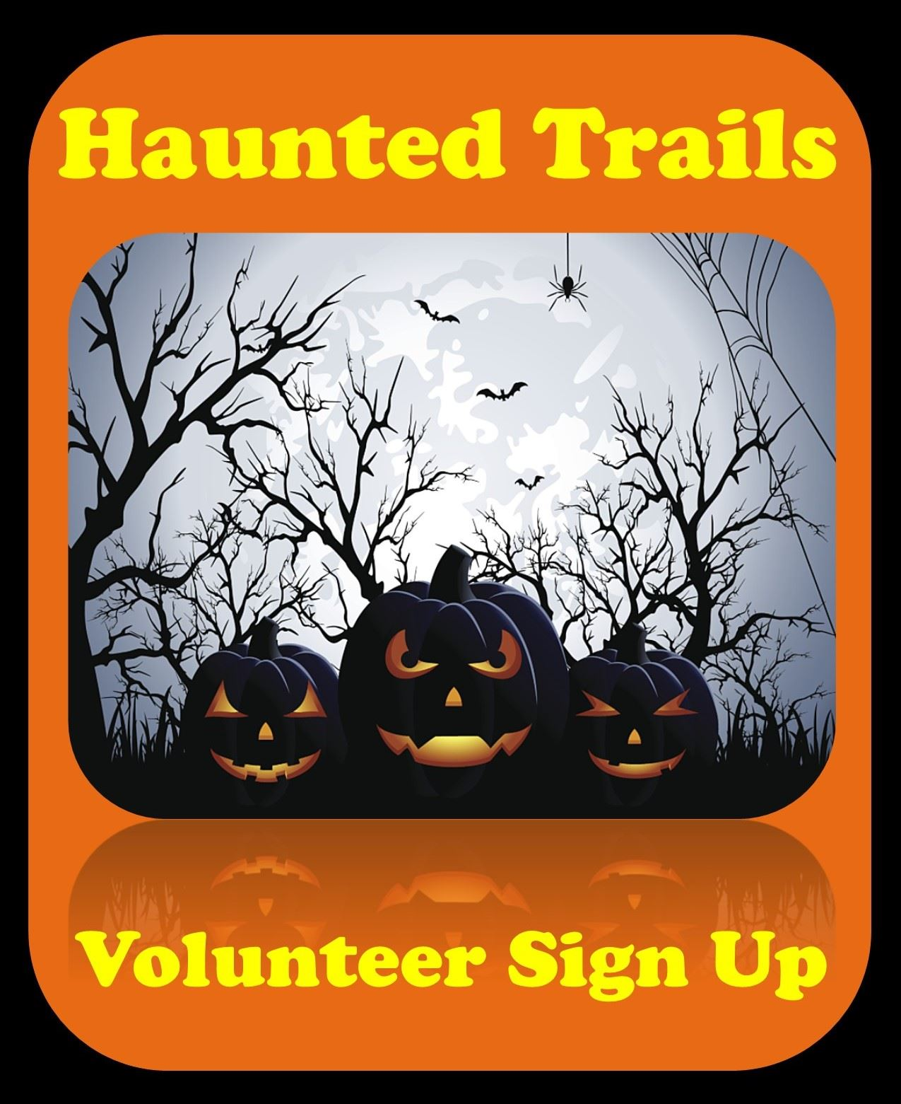 Haunted Trails Volunteers Image