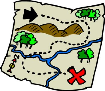 treasure map image