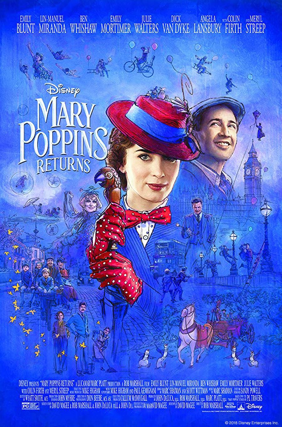 Mary Poppins Returns Official Image