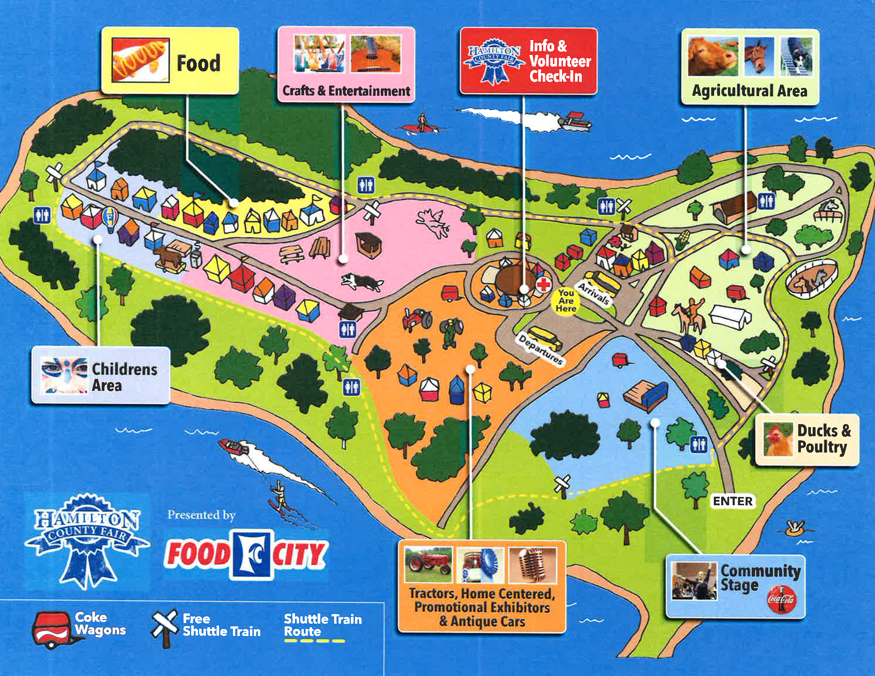 County Fair 2019 Map